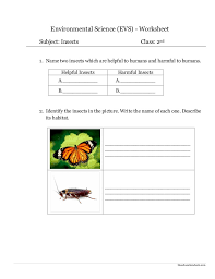 Environmental Science Worksheets Worksheets for all | Download and ...