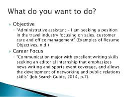 Career Focus On Resumes Experience To Paper A Resume Recipe For The Student Leader