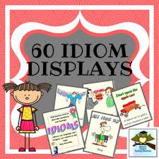 Idiom Anchor Chart 60 Idiom Displays