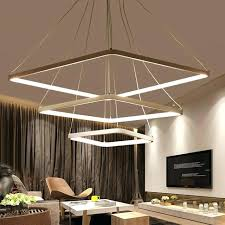 hanging lamp for living room living room hanging lamps square modern led chandelier acrylic lights lamp