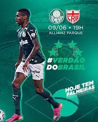 Palmeiras x CRB: Acompanhe o jogo em tempo real da Copa do Brasil
