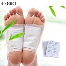 <b>efero 10pcs</b> Cleansing <b>Detox Foot</b> Patch Pads for Feet Care Body ...
