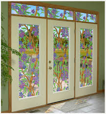 pocket french doors interior modern looks tiffany stained glass cling biscayne see thru window