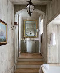 Shabby Chic Bathroom Vanity With Lighting