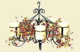 home improvement hanging votive candle chandelier