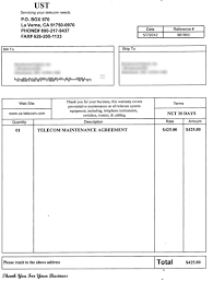 How To Make A Fake Invoice The Daily Scam Fake Bills And Invoices 5