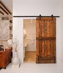 Sliding Barn Door for Bathroom Doors