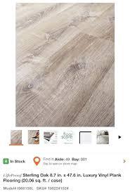 white oak vinyl flooring a purchase sterling 8 7 in x 6 lifeproof luxury plank cleaning floor vinyl