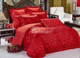 beautiful red bedding sets webnuggetz com
