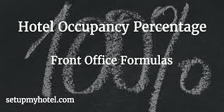 Fo Formula Hotel Occupancy Percentage Calculator