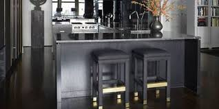 modern interior kitchen design. Black And White Decor Modern Interior Kitchen Design [
