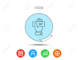 Download Palm Chart Cheque Icon Giving Hand Sign Paying Check In Palm Symbol Calendar