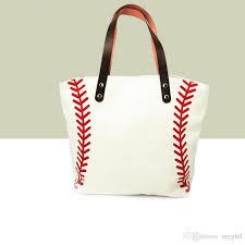 stock black white blanks cotton canvas softball tote bags baseball bag football bags soccer ball bag with hasps closure sports bag hobo purses leather bags