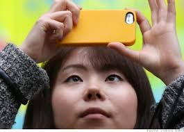 iphone japan. the japanese were using their cellphones to watch tv, navigate with gps, download music, make movies, pay bills, and check emails years before iphone japan