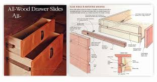 full extension drawer guides diy wooden drawer slides woodarchivist
