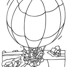 Kleurplaten Luchtballon Xclusive Ballonvaarten