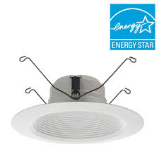 lithonia lighting e series 5 in and 6 in matte white recessed 3000k