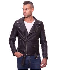 chiodo biker black perfecto lamb belted leather biker jacket