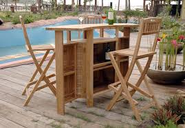 wood patio bar set. Outdoor Bar Furniture Wooden Wood Patio Set N