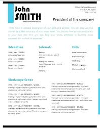 Professional Resume Builder Free Professional Resume Templates