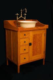 washstand bathroom pine: bathroom washstand vanity custom made shaker vanity washstand