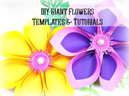 zoom on paper flower wall art tutorial with giant hawaiian paper flower templates tutorial paper flower