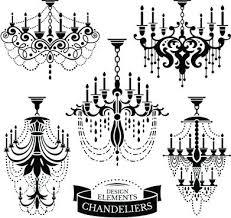 black and white chandelier ornate chandelier vector silhouette set black white chandelier wallpaper