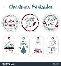Christmas Tag Template Template Printable Christmas Label Template Labels Stickers Design