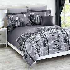 nyc bedding set world cities