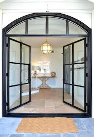 arched front door with glass steel and glass double front doors arched front doors with glass