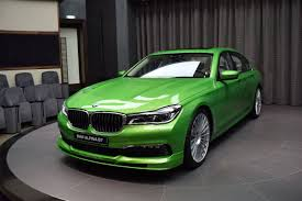 Sport Series 2017 bmw 7 series : BMW Alpina B7 surprises in a Java Green special color