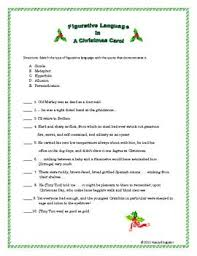 best a christmas carol revision ideas figurative language in a christmas carol worksheet using quotes from a christmas carol by charles