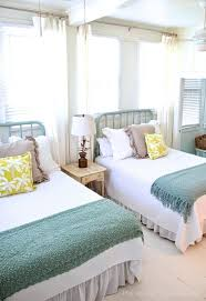 beach design bedroom. Beach House Bedroom Design View In Gallery Bright And Themed Twin Beds A Guest