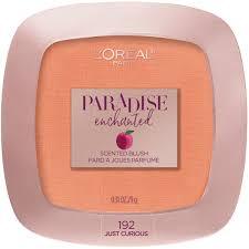 l oreal paris cosmetics paradise enchanted fruit scented blush makeup just curious