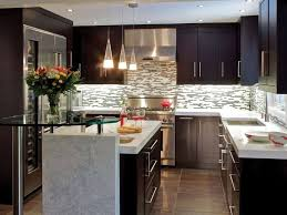 ... Ideas For Kitchen Design Kitchen Remodels, Black Rectangle Modern  Wooden Small Remodeled Kitchens Stained Design For Small Kitchen Design ...