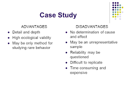 Factors Affecting Choice of Research Methods   ReviseSociology  Advantages of Case Study Research