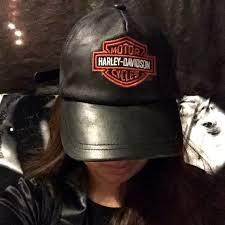 harley davidson accessories vintage leather harley davidson hat