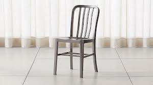 Aluminum crate barrel Marble Crate And Barrel Delta Nickel Dining Chair Reviews Crate And Barrel