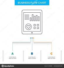 Heart Flow Chart Monitoring Health Heart Pulse Patient Report Business Flow
