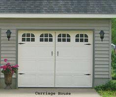 Creating A Faux Carriage Garage Door Carriage garage doors Garage