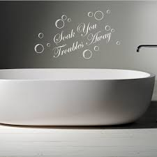 image of bathroom wall decals vinyl