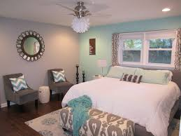 Teal And Gray Bedroom Retro Ranch Reno Cheap And Easy