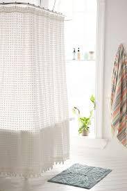 plum shower curtains. Plum \u0026 Bow Pompom Shower Curtain Curtains