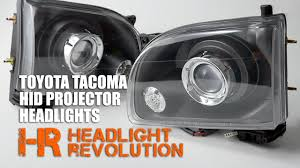 Toyota Tacoma 01-04 Projector Headlights from STARR HID ...