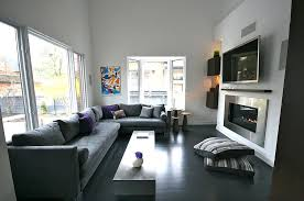 sleek modern furniture. Sleek Modern Living Room View In Gallery Accents Of Violet And Turquoise The Space . Furniture S