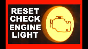 Kenworth Check Engine Light Reset How To Reset Your Check Engine Light With No Special Tools