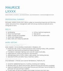 General Laborer Resume Fresh Awesome Solar Resume Examples Mold