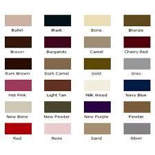 Waproo Colour Chart Waproo Colour Change Shoe Paint For Leather Vinyl Shoes 50ml Bottle