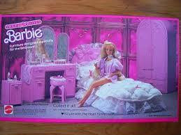 barbie sweet roses bedroom set furniture collection barbie bedroom furniture