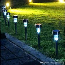 outdoor yard lights yard lamps solar lamps lawn led light stainless steel solar garden lights led